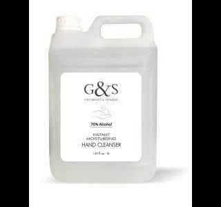 G&S 5L Bulk Cleanser (case of 2)